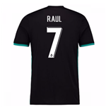 Maglia Real Madrid Away 2017-2018 (Raul 7)