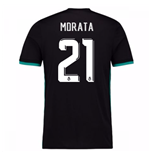 Maglia Real Madrid Away 2017-2018 (Morata 21)