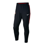 Pantaloni Atletico Madrid 2017-2018 (Nero)