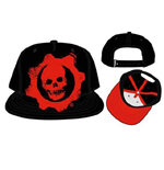 Gears Of War - Embroidered Logo Snapback (Cappellino)