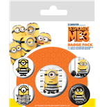 Despicable Me 3 (Breakout) (Badge Pack)
