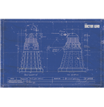 Doctor Who - Dalek Blueprint (Poster Maxi 61X91,5 Cm)
