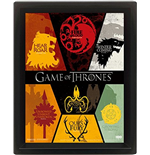 Game Of Thrones - Sigil (Poster Lenticolare 3D)