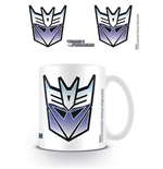 Transformers G1 - Decepticon Symbol (Tazza)