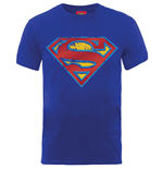 T-shirt Dc Comics - Superman Foil Shield