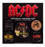 Ac/Dc - Logo (Pin Badge Pack)