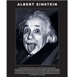 Albert Einstein - Tongue (Mini Poster 40X50 Cm)