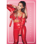 Poster Ariana Grande - Red - 61X91,5 Cm