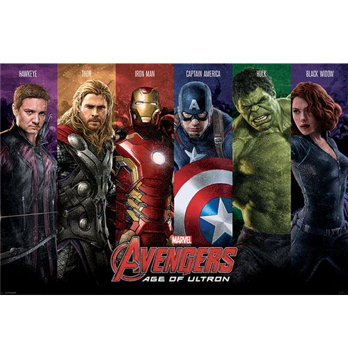 Avengers: Age Of Ultron - Team (Poster Maxi 61X91,5 Cm)