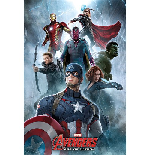 Avengers: Age Of Ultron - Encounter (Poster Maxi 61X91,5 Cm)