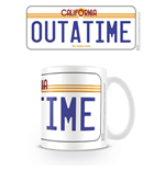 Back To The Future - License Plate (Tazza)