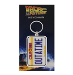 Portachiavi Back To The Future - License Plate