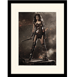 Batman V Superman - Wonder Woman (Stampa In Cornice 30X40 Cm)