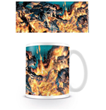 Batman - Flames (Tazza)