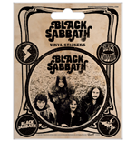Set Adesivi Black Sabbath - Vintage - 12,5X10 Cm