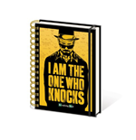 Breaking Bad - I Am The One Who Knocks (Quaderno A5)