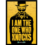 Breaking Bad - I Am The One Who Knocks (Poster 100X140 Cm)