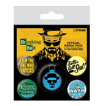 Breaking Bad - Heisenberg Flask (Pin Badge Pack)