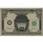 Breaking Bad - Heisenberg Dollar (Poster Maxi 61X91,5 Cm)