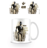 Star Wars Rogue One - K 2s0 Profile (Tazza)