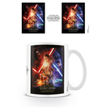 Star Wars Episode VII - One-sheet White (Tazza)