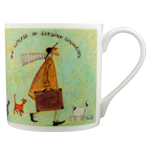 Sam Toft (The Suitcase Of Sardine Sandwiches) Bone China Mug (Tazza)