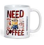 Minions / Cattivissimo Me - Need Coffee (Tazza)