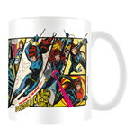 Marvel Retro - Black Widow Panels (Tazza)