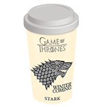 Game Of Thrones (House Stark) Travel Mug (Tazza Da Viaggio)