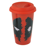 Deadpool (Splat) Travel Mug (Tazza Da Viaggio)