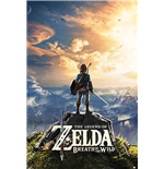 Poster The Legend Of Zelda: Breath Of The Wild - Sunset - 61 x 91,5 cm