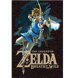 The Legend Of Zelda: Breath Of The Wild - Game Cover (Poster Maxi 61X91,5 Cm)