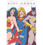 Dc Comics - Girl Power (Poster Maxi 61X91,5 Cm)