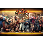 Street Fighter - Characters (Poster Maxi 61x91,5 Cm)