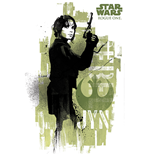 Star Wars Rogue One - Jyn Grunge (Poster Maxi 61X91,5 Cm)