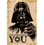 Star Wars - Your Empire Needs You (Poster Maxi 61X91,5 Cm)