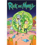 Poster Rick And Morty - Portal - 61X91,5 Cm