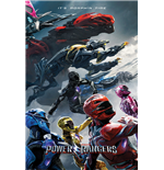 Power Rangers Movie - Charge (Poster Maxi 61X91,5 Cm)