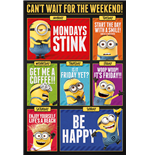 Despicable Me 3 - Can'T Wait For The Weekend (Poster Maxi 61X91,5 Cm)