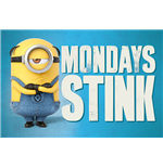 Despicable Me 3 - Mondays Stink (Poster Maxi 61X91,5 Cm)