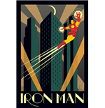 Marvel Deco - Iron Man (Poster Maxi 61X91,5 Cm)