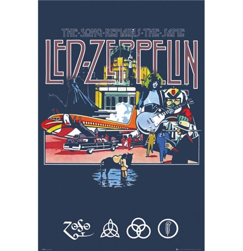 Led Zeppelin - Remains (Poster Maxi 61x91,5 Cm)