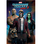 Poster Guardians Of The Galaxy Vol, 2 - Characters In Space - 61X91,5 Cm