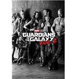 Guardians Of The Galaxy Vol. 2 - Black & White Teaser (Poster Maxi 61X91,5 Cm)