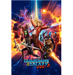 Guardians Of The Galaxy Vol. 2 - One Sheet (Poster Maxi 61X91,5 Cm)