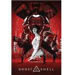 Ghost In The Shell - Red (Poster Maxi 61X91,5 Cm)