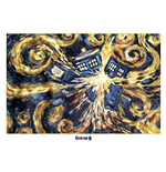 Doctor Who - Exploding Tardis (Poster 100X140 Cm)