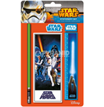 Star Wars - A New Hope Pencil  Eraser  Sharpener  Ruler & Notepad (Set Cancelleria)