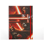 Star Wars Episode Vii (Kylo Ren Panels) A4 Notebook (Quaderno)