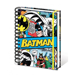 Dc Comics - Batman Retro (Quaderno Spirale A5)